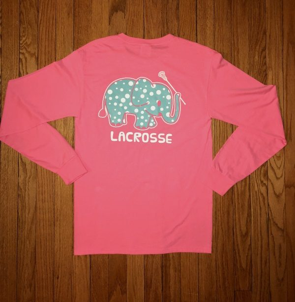 14e8a238 Elephant Lacrosse Long Sleeve Shirt - Girls Gotta Play